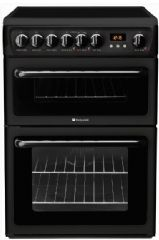 Hotpoint 60cm Wide Double Oven Cooker HAE60Ks (Black)